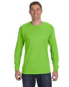 Lime 6.1 oz. Tagless® ComfortSoft® Long-Sleeve T-Shirt