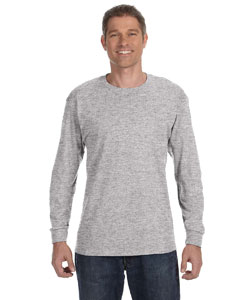 Light Steel 6.1 oz. Tagless® ComfortSoft® Long-Sleeve T-Shirt