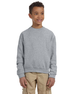Oxford Youth 8 oz., 50/50 NuBlend® Fleece Crew