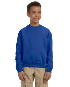 Royal Youth 8 oz., 50/50 NuBlend® Fleece Crew