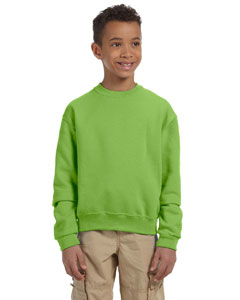 Kiwi Youth 8 oz., 50/50 NuBlend® Fleece Crew