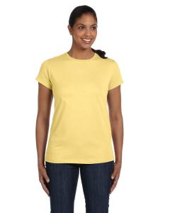 Daffodil Yellow Women's 5.2 oz. ComfortSoft® Cotton T-Shirt
