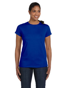 Deep Royal Women's 5.2 oz. ComfortSoft® Cotton T-Shirt