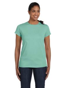 Clean Mint Women's 5.2 oz. ComfortSoft® Cotton T-Shirt