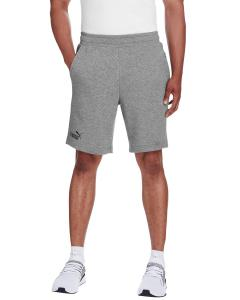 Md Gy Hth/ P Blk Adult Essential Bermuda Short