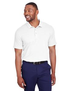 Bright White Mens Fusion Polo
