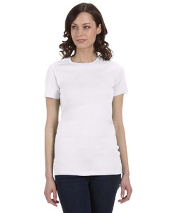 Solid Wht Blend Women's The Favorite T-Shirt