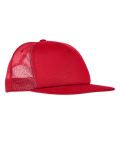 Red Adult Foam Trucker Snapback