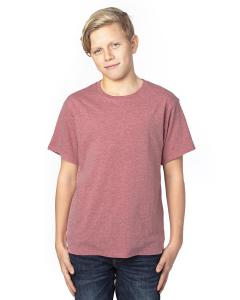 Maroon Heather Youth Ultimate T-Shirt