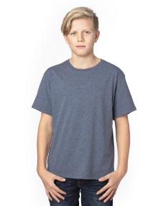 Navy Heather Youth Ultimate T-Shirt