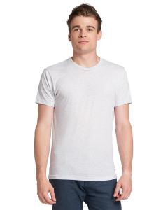 Heather White Men's Made in USA Triblend T-Shirt