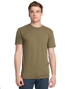 Military Green Men's Made in USA Triblend T-Shirt
