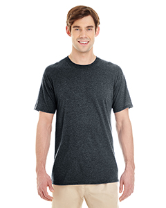 Black Heather Adult 4.5 oz. TRI-BLEND T-Shirt