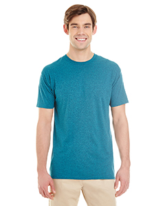 Mosaic Blue Hthr Adult 4.5 oz. TRI-BLEND T-Shirt