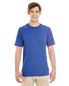 True Blue Heathr Adult 4.5 oz. TRI-BLEND T-Shirt