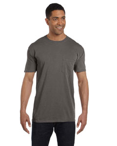 Pepper 6.1 oz. Garment-Dyed Pocket T-Shirt