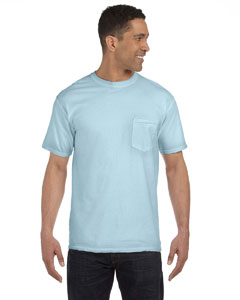 Chambray 6.1 oz. Garment-Dyed Pocket T-Shirt