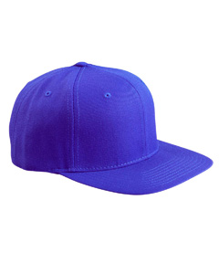 Royal 6-Panel Structured Flat Visor Classic Snapback