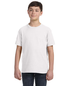 White Youth Fine Jersey T-Shirt