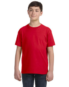 Red Youth Fine Jersey T-Shirt