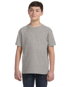 Heather Youth Fine Jersey T-Shirt