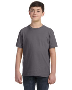 Charcoal Youth Fine Jersey T-Shirt