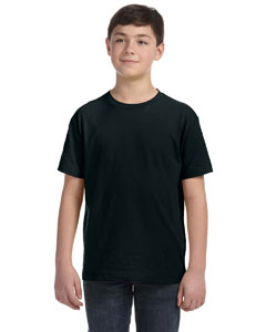 Black Youth Fine Jersey T-Shirt