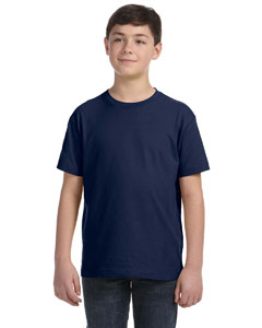Navy Youth Fine Jersey T-Shirt