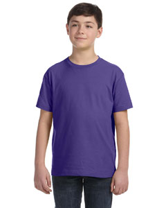Purple Youth Fine Jersey T-Shirt