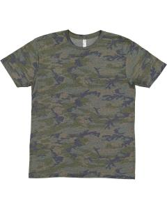 Vintage Camo Youth Fine Jersey T-Shirt