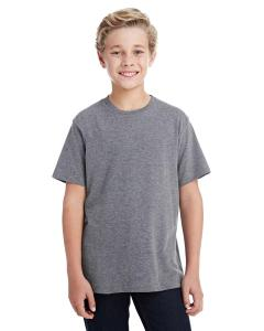 Granite Heather Youth Fine Jersey T-Shirt