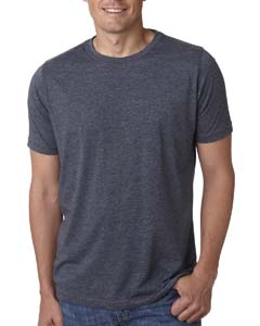 Antique Denim Men's Poly/Cotton Short-Sleeve Crew Tee