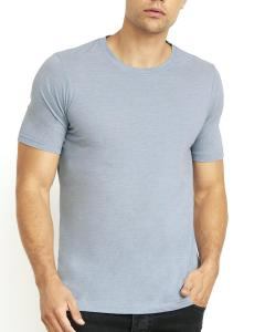Stonewash Denim Men's Poly/Cotton Short-Sleeve Crew Tee