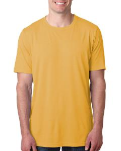 Antique Gold Men's Poly/Cotton Short-Sleeve Crew Tee