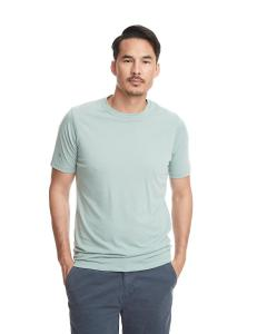Stonewash Green Men's Poly/Cotton Short-Sleeve Crew Tee