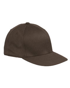 Brown Premium Fitted Cap