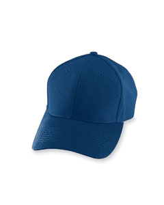 Navy Adult Athletic Mesh Cap