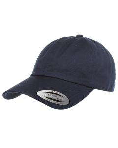 Navy Adult Low-Profile Cotton Twill Dad Cap