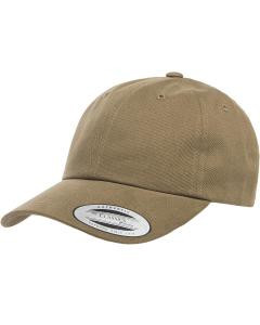 Light Loden Adult Peached Cotton Twill Dad Cap