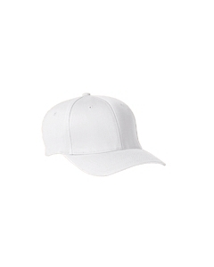 White Adult Wooly 6-Panel Cap