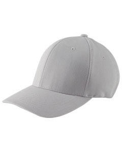 Silver Adult Wooly 6-Panel Cap