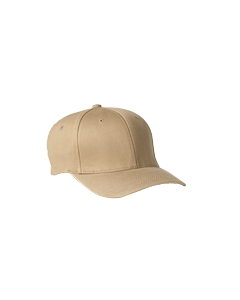 Khaki Adult Wooly 6-Panel Cap