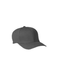 Dark Grey Adult Wooly 6-Panel Cap