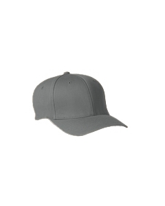 Grey Wooly 6-Panel Cap