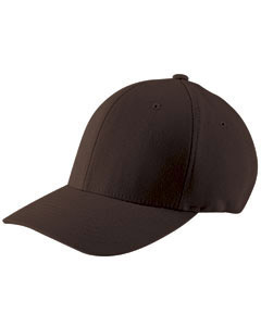 Brown Adult Wooly 6-Panel Cap