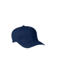 Navy Adult Wooly 6-Panel Cap