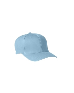 Carolina Blue Adult Wooly 6-Panel Cap