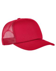 Red Adult Classics™ Curved Visor Foam Trucker Cap