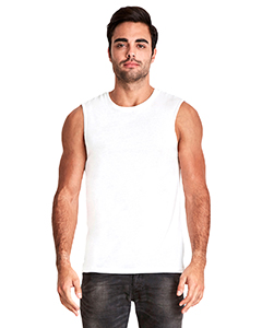White Men's Muscle Tank