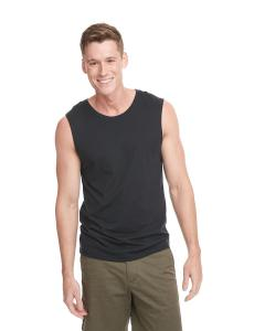 Black Men's Muscle Tank